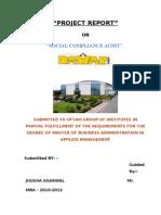Social Compliance Audit