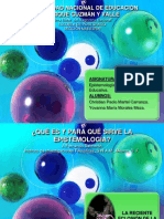 Trabajo de Epsitemología