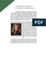 Thinking About Strategic Thinking v4.0