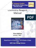 Chemistry Reagent Manual