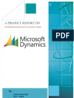 105987116 a Project Report on ERP...........
