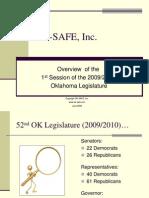 OKSAFE Overview of 1st Session of 2009_2010 OK Legislature