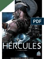 HÉRCULES LIVRO SANGUE DE NEMÉIA
