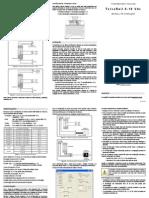 5001520 v10x b Manual Txisorail 0-10vdc Portuguese