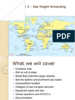 freight forwarding Chapter 3