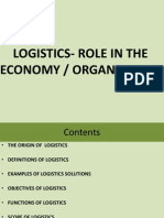 Introduction to Logistics - 1