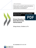"Kimura, S. and C. Le Thi (2013), ""Cross Country Analysis of Farm Economic Performance"", OECD Food, Agriculture and Fisheries Papers, No. 60, OECD Publishing. http://dx.doi.org/10.1787/5k46ds9ljxkj-en"