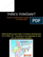 2009 Elections, Results Before Voting (A Presentation)