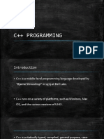 DAY1 - CPP - Introduction