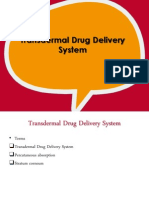 phardose - transdermal drug delivery system