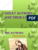Great Authors and Their Lives