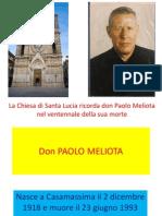 Don Paolo Meliota Per Sito Chiesa