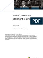 Microsoft Dynamics NAV SOD May2009