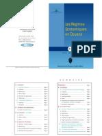 Maroc Regimes Economiques Douane