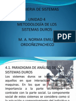 Unidad 4 Ing. Sistemas
