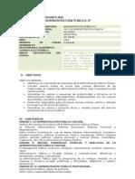 Administración Publica II