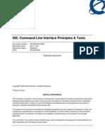 SIE Command Line Interface Principles