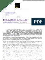PAULO, PRESO E JULGADO _ Portal da Teologia.pdf