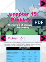 Chapter 15&16 Problems and Answers