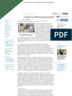 Agência USP de Notícias » Presença feminina na medicina aumenta no Brasil