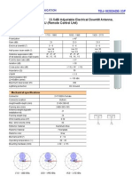 Antenna Datasheet