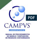 Manual Procedimientos Manejo Disposicion Residuos