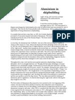 Aluminium in Shipbuilding