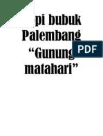 Kopi Bubuk Palembang