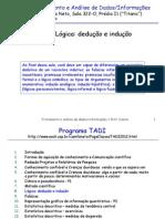 Tadi.2012.Aula8.Logica.deduccao.e.induccao