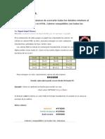 Los Colores y HTML