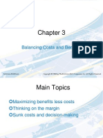 Chap003-Balacing Costs and Benefits