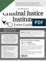 CJI Event Guide 2013