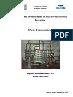 Mejora en Eficiencia Energetica - Sector Lacteo