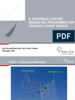 Il Graphical System Design nel programma PCR (Passive Covert Radar)