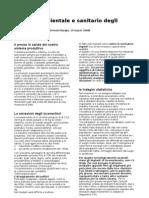 Impatto ambientale e sanitario degli inceneritori - Relazione da un seminario di E. Burgio