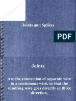 Joints and Splices