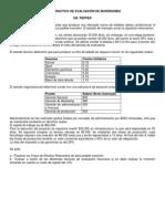 CASOS DE EVALUACIÓN DE INVERSIONES