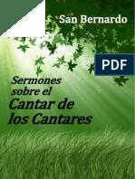 134530971 Sermones Sobre El Cantar de Los Cantares San Bernardo