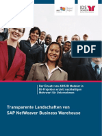 Whitepaper - ARIS SAP Transparente BI Landschaften