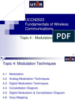 Topic 4 - Modulation Techniques