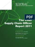 Chief Supply Chain Officer r