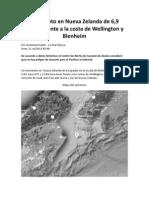 Terremoto en Nueva Zelanda de 6