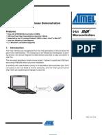 USB Atmel Mouse Doc7604