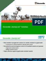 Stoneville Cotton - 2012 LibertyLink Variety Guide