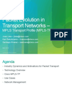 Packet Evolution in Trensport Networks Mpls-tp PacketEvolution_Webinar