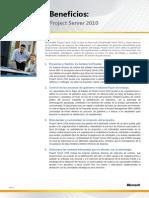 Beneficios de Project Server 2010