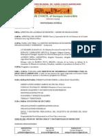 Programa Oficial Emch 2013
