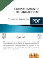 Comportamiento Organizacional Gustavo Cruz Callejas