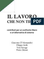 [E-book] Il Lavoro Che Non Tiene - Itolli, D'Alessandro,Vess, Mensi