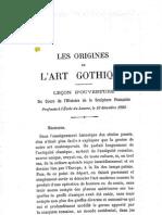 Courajod-OriginsGothique
